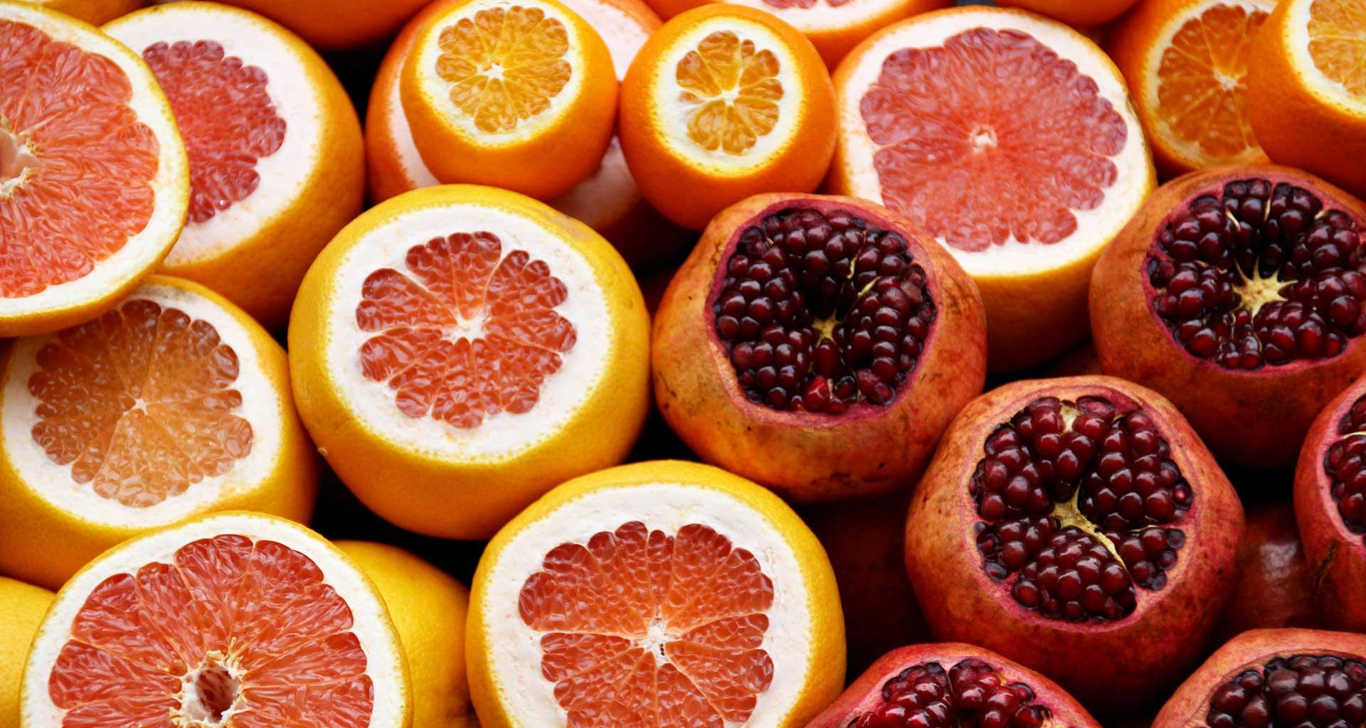 Découpe de fruits frais