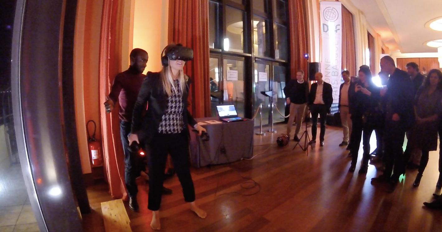 Du ski en Réalité Virtuelle !